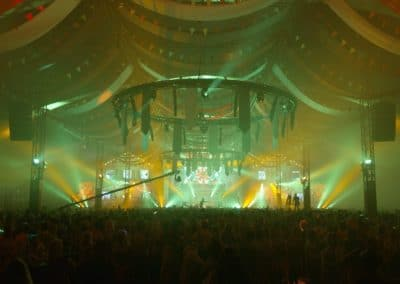 BMCreations - Het Foute Oktoberfest publiek en lichtshow