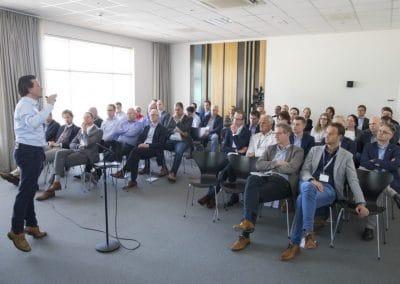 Bmcreations - Vinci Engerie Presentatie voor zittend publiek