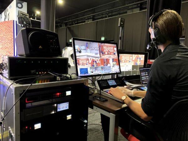 Business livestream events